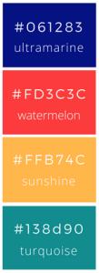 GRAVA color palette